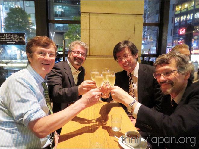 トリニティ・イン・ジャパン・ソサエティのミーティング、2016年4月28日