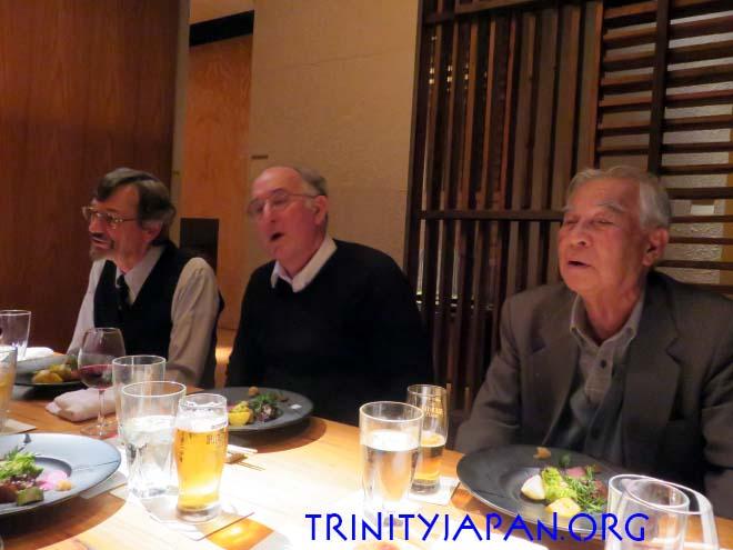 ドミニク・リーベン教授とのミーティング、木曜日2016年12月8日