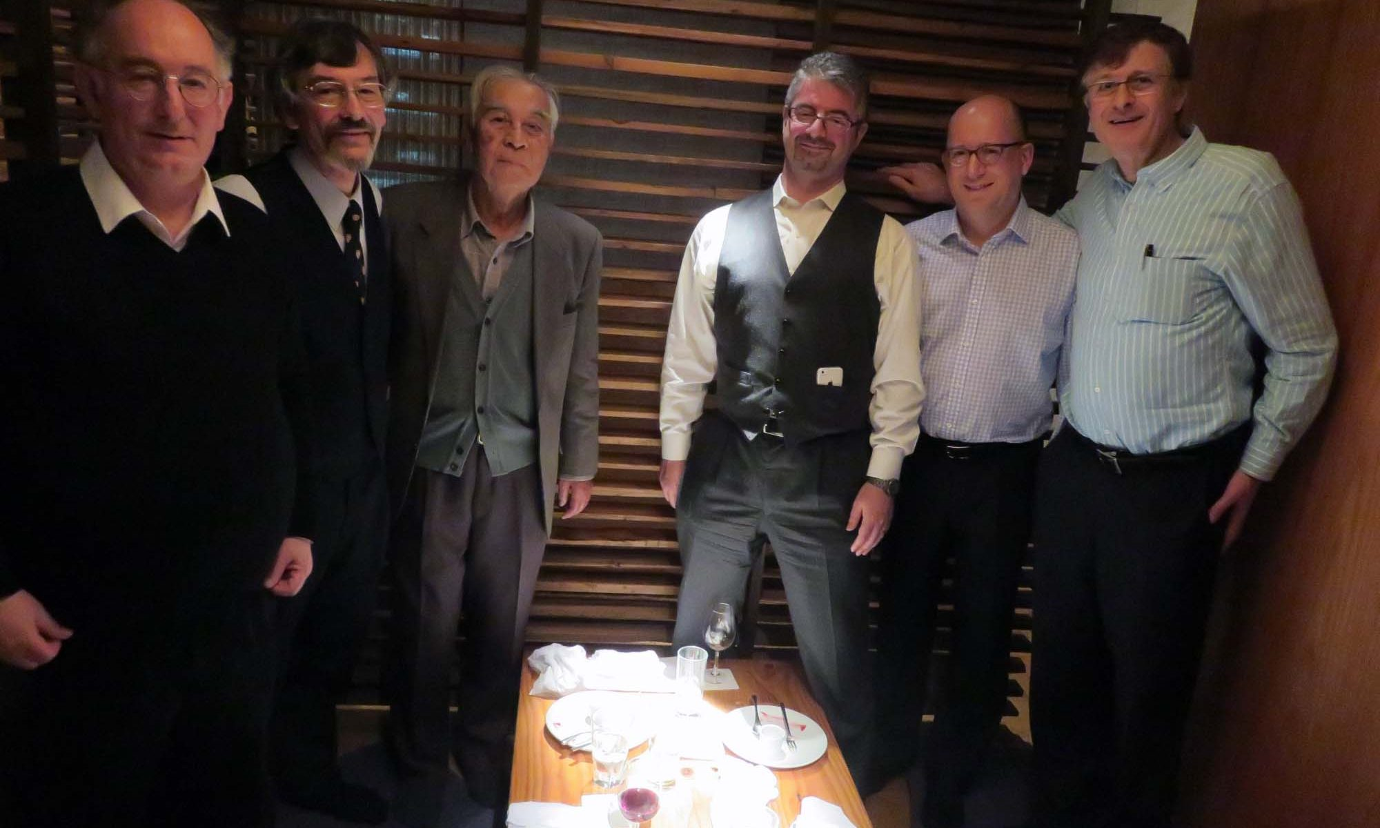 トリニティー・イン・ジャパンのミーティング、ドミニク・リーベン教授はトリニティーカレッジのシニアー研究フェロー兼研究教授