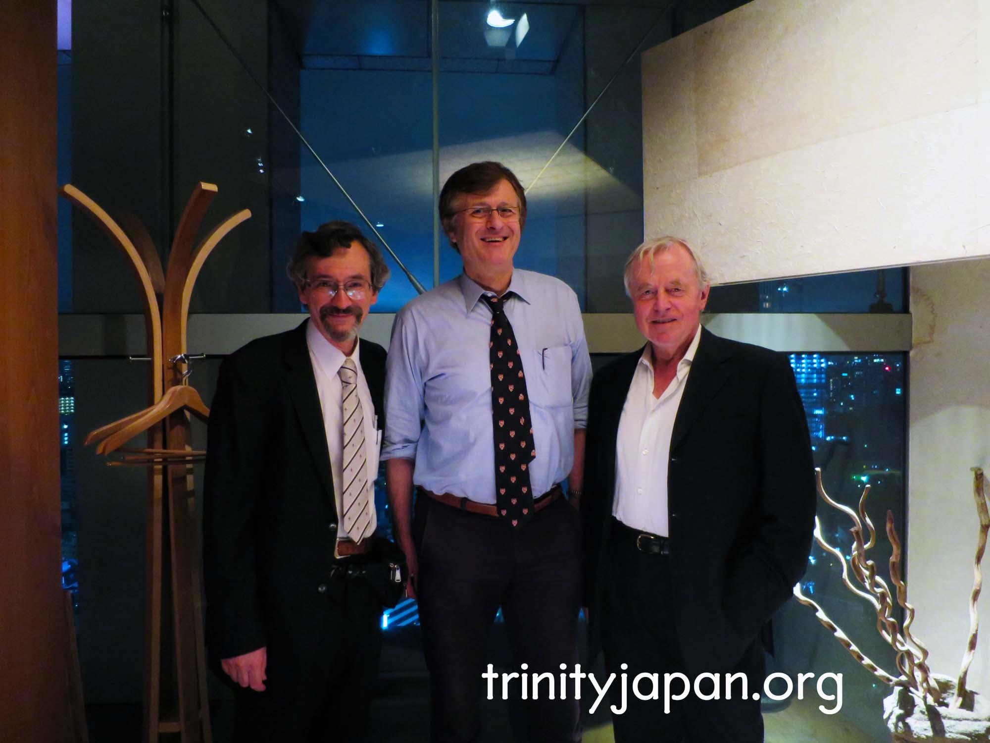 トリニティ・イン・ジャパン・ソサエティの第二回ミーティング
