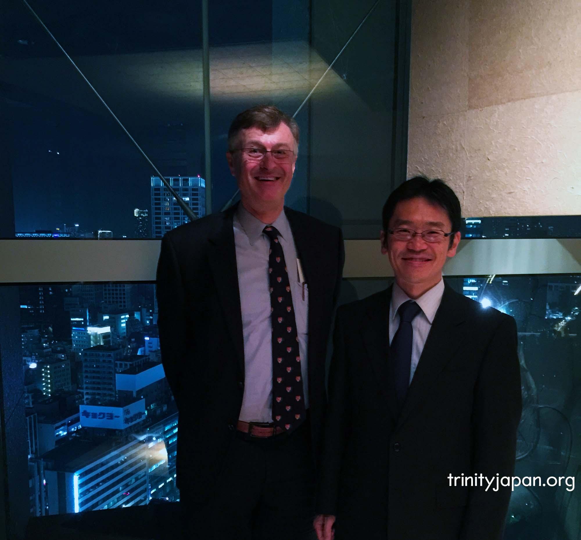 トリニティ・イン・ジャパン・ソサエティの第五回ミーティングは金曜日2015年11月20日