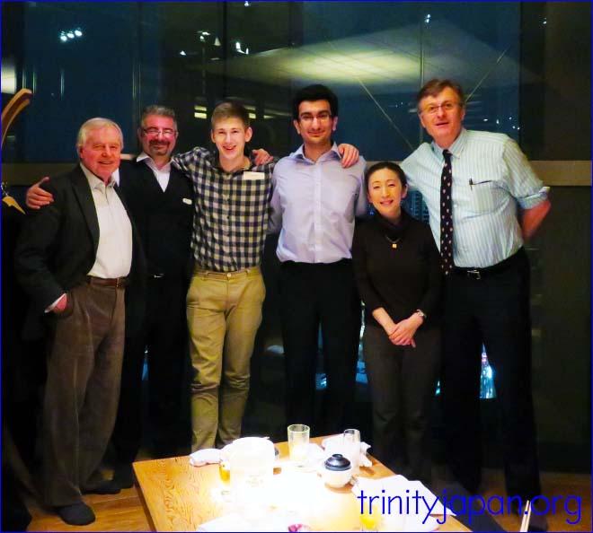 トリニティ・イン・ジャパン・ソサエティの2016年3月25日のミーティング。ムハンマド・アサダラ・カーン(トリニティーカレッジ)とのデベート