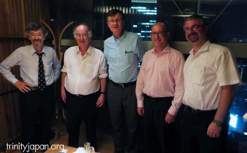 トリニティ・イン・ジャパン・ソサエティのミーティング、ドミニク・リーベン教授とのミーティング、木曜日2016年8月25日