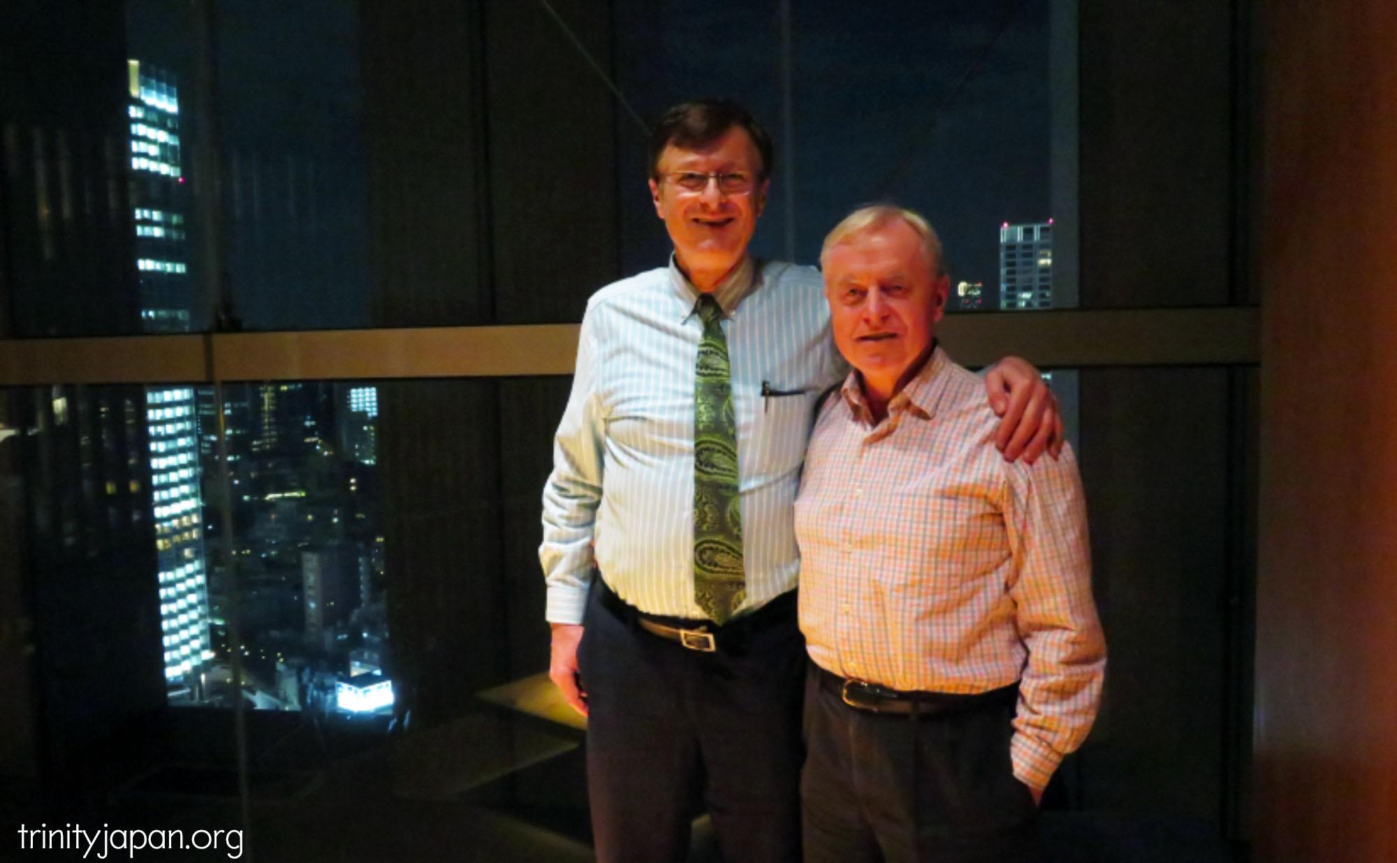 トリニティー・イン・ジャパンのミーティング、木曜日2016年10月27日 アントニー・ミリングトン
