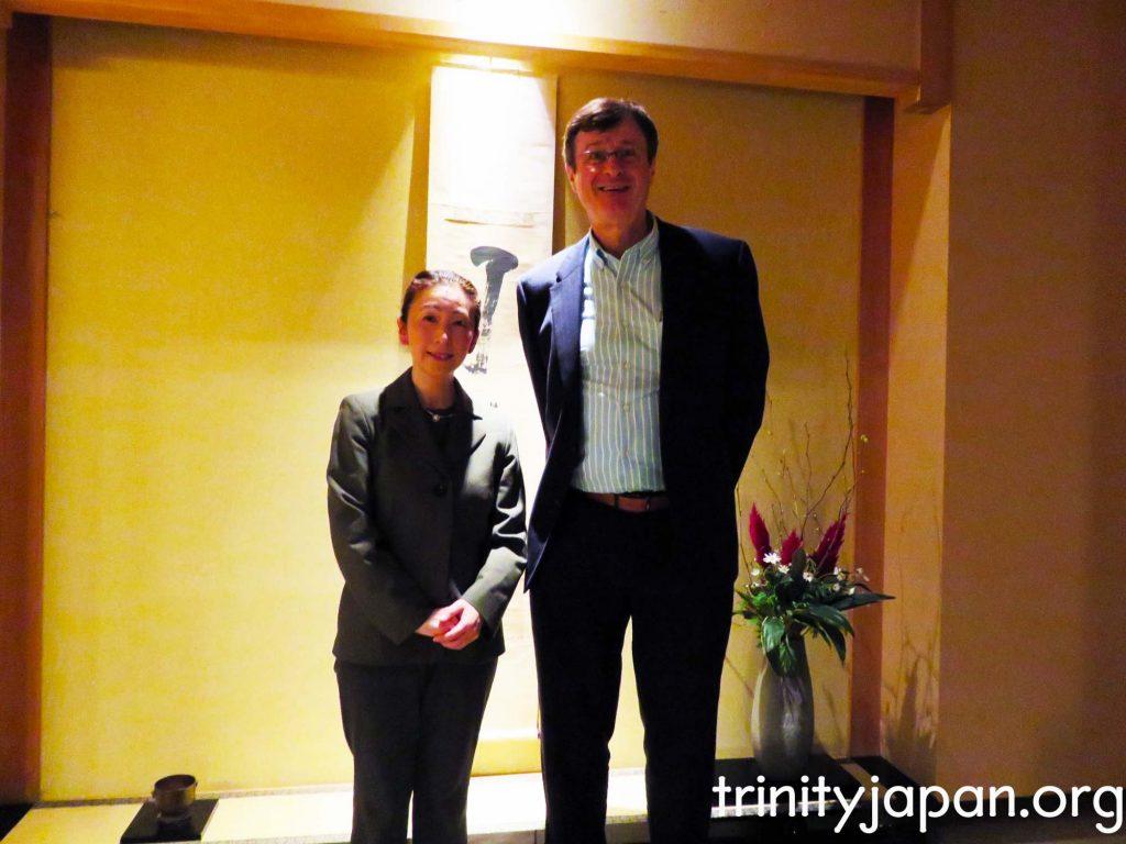 トリニティー・イン・ジャパンの大阪のミティング2015年12月7日