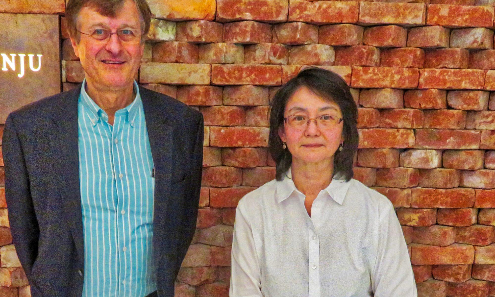 楠川幸子先生、トリニティーカレッジフェローとファーソルゲルハルトのミーテイング 2018年3月27日