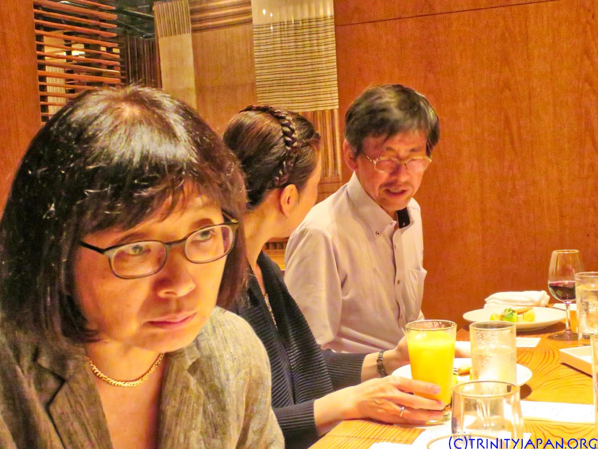 トリニティー・イン・ジャパンのミーテイング2018年6月22日(金曜日)