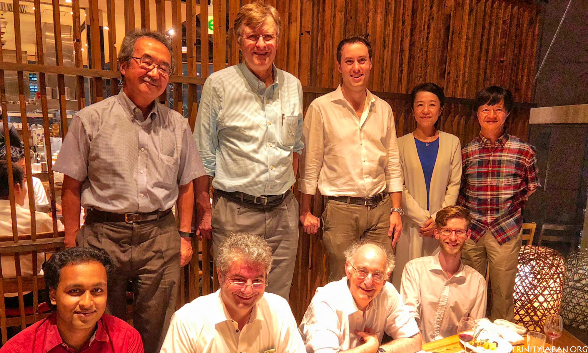 トリニティー・イン・ジャパンとMITスローン日本同窓会 (SSJ) のミーテイング2018年7月25日