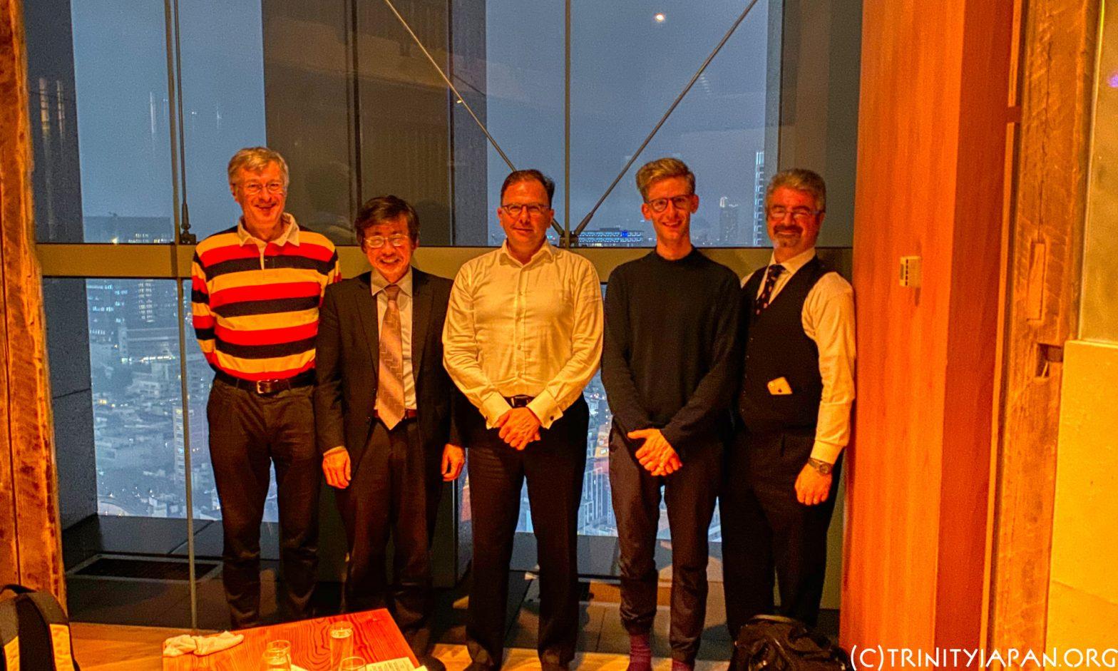 2019年10月18日ラグビーワールドカップの特別ミーティング、ヴォルフガング・ウンゲレル氏(1990)の自動車業界の将来についての公演