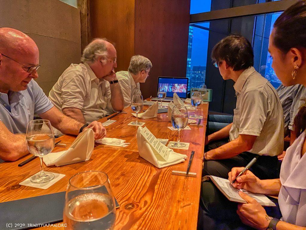 2020年7月31日ラドローのリース男爵マーティン・リースとのミーティング